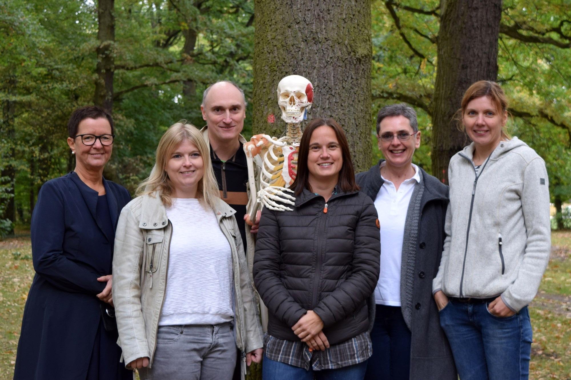 Gruppenbild des Teams der Didaktik der Biologie